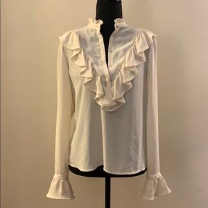 Zara Blouse - Perfect For Work or Date Night!